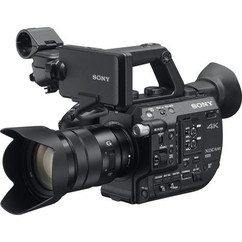 SONY PXW-FS5M2K 4K CAMCORDER WITH LENS