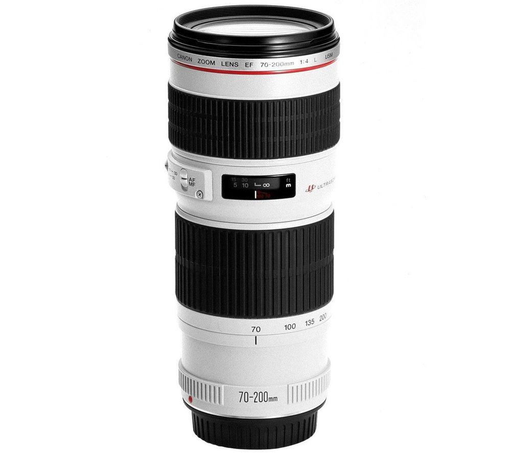 Canon EF 70-200mm f/4.0L IS USM Zoom Lens
