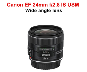 2Canon EF 24mm