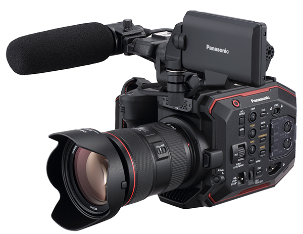 Panasonic EVA1 firmware update version 2.0