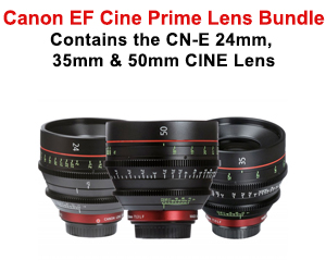 Cine lens bundle