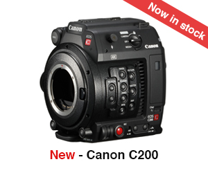 Canon C200 now in stock