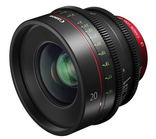Canon launches the CN-E20mm T1.5 L F cine prime lens