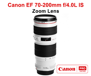 Canon EF 70-200mm f4.0L IS