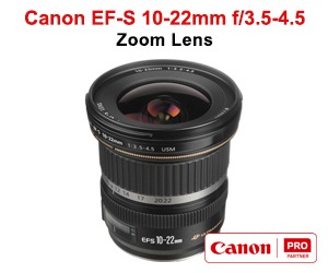 Canon EF-S 10-22mm f3.5-4.5