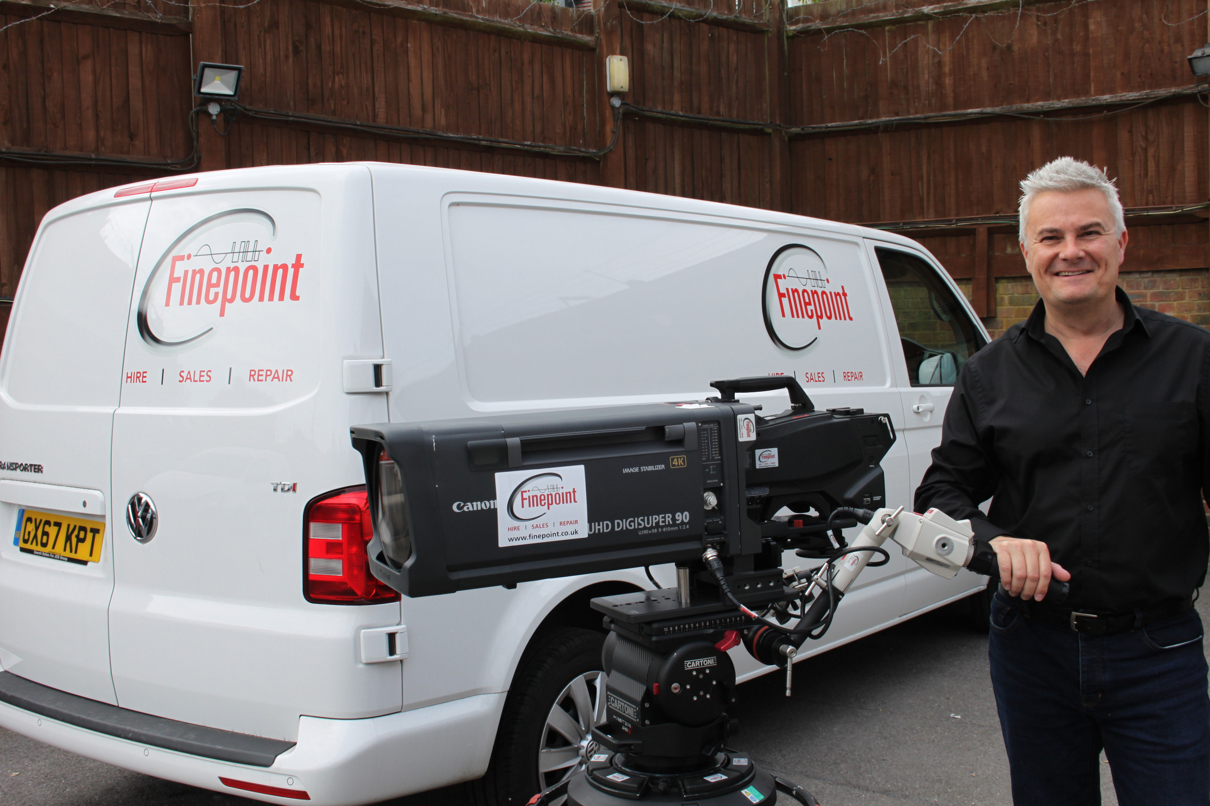 Finepoint Broadcast Adds Further 10 Sony HDC-4300 Camera Channels to Hire Stock