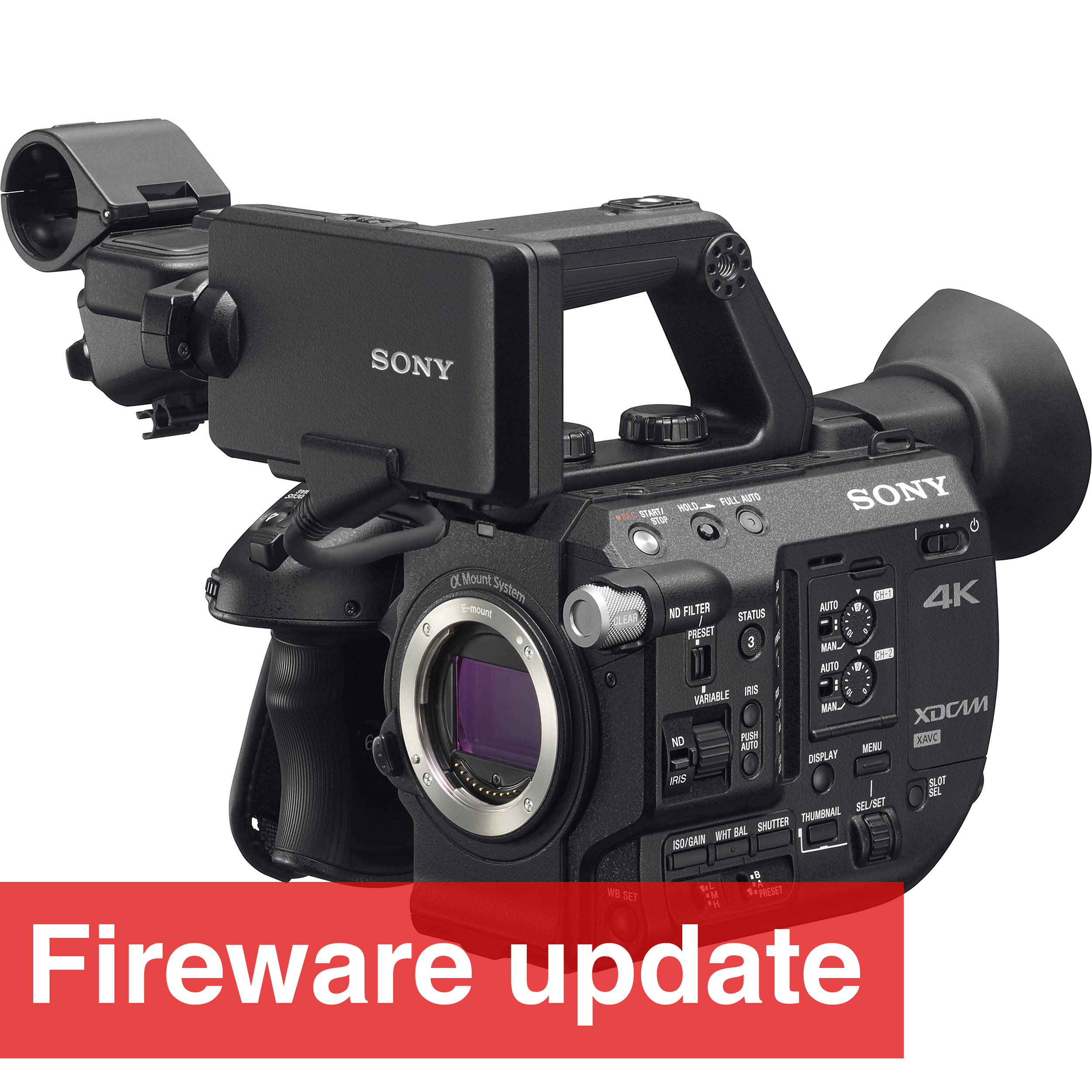 Sony release firmware version 4.02 for the FS5