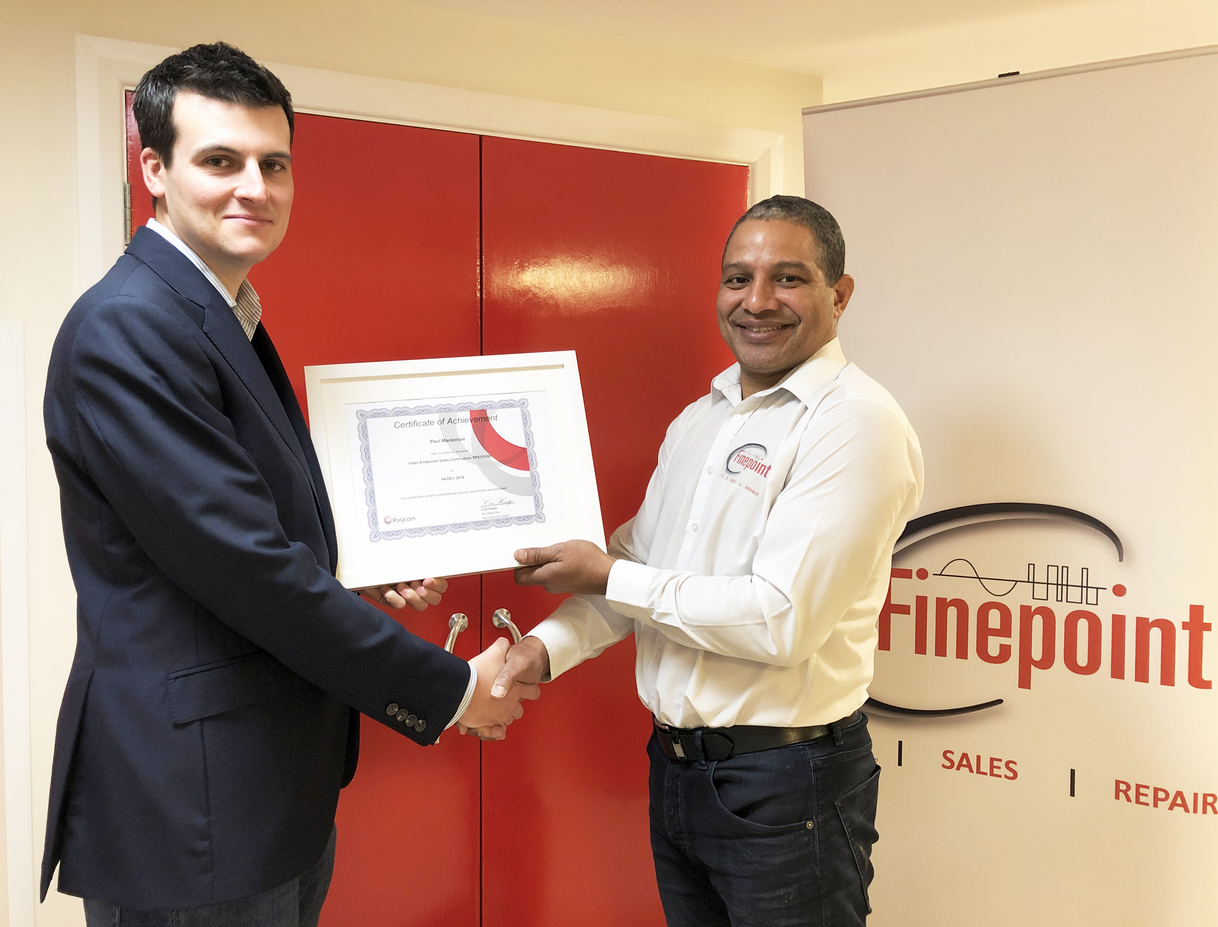 Finepoint AV Division Secures Polycom Video Endpoints Certification