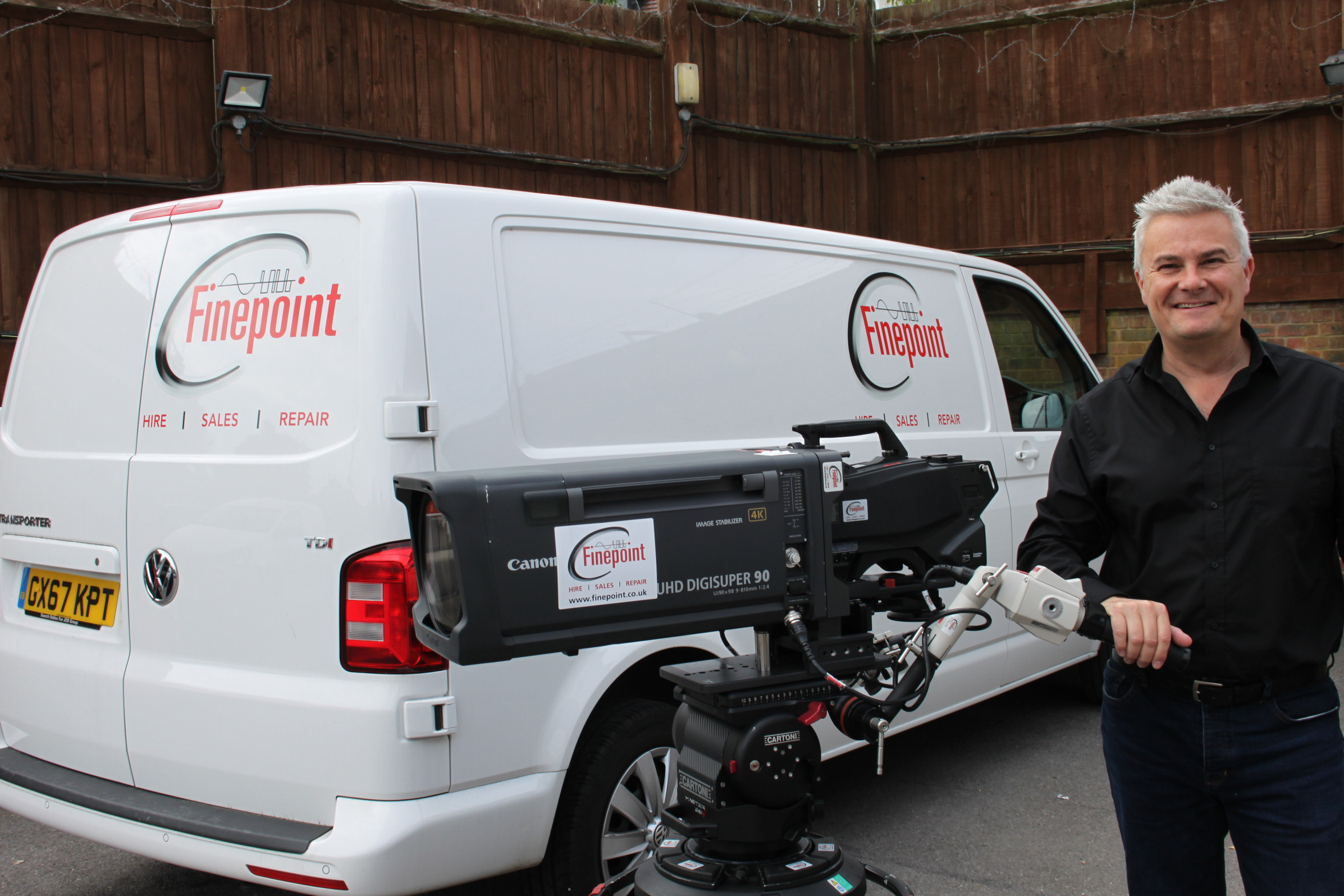 Finepoint Broadcast Announces Major Expansion to Hire Fleet