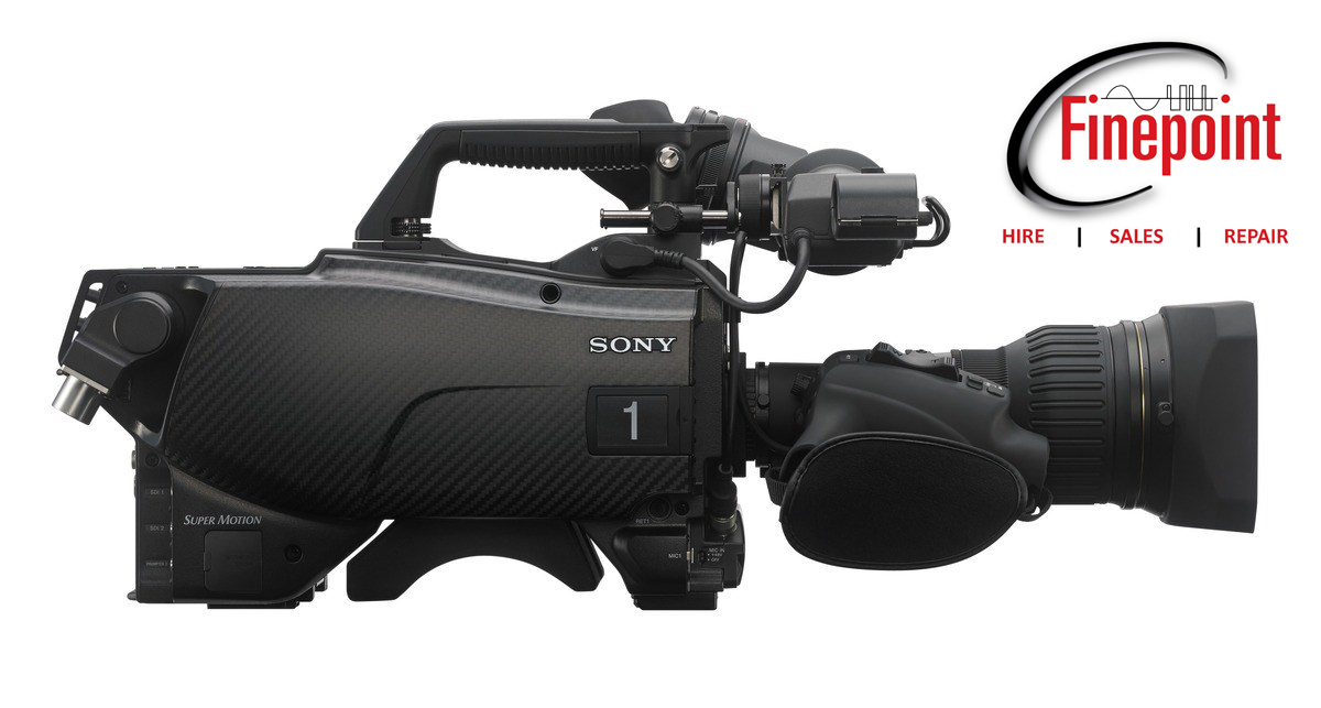 New Sony HDC-4300 cameras for hire