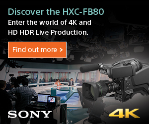 5 great reasons to choose the HXC-FB80 studio camera