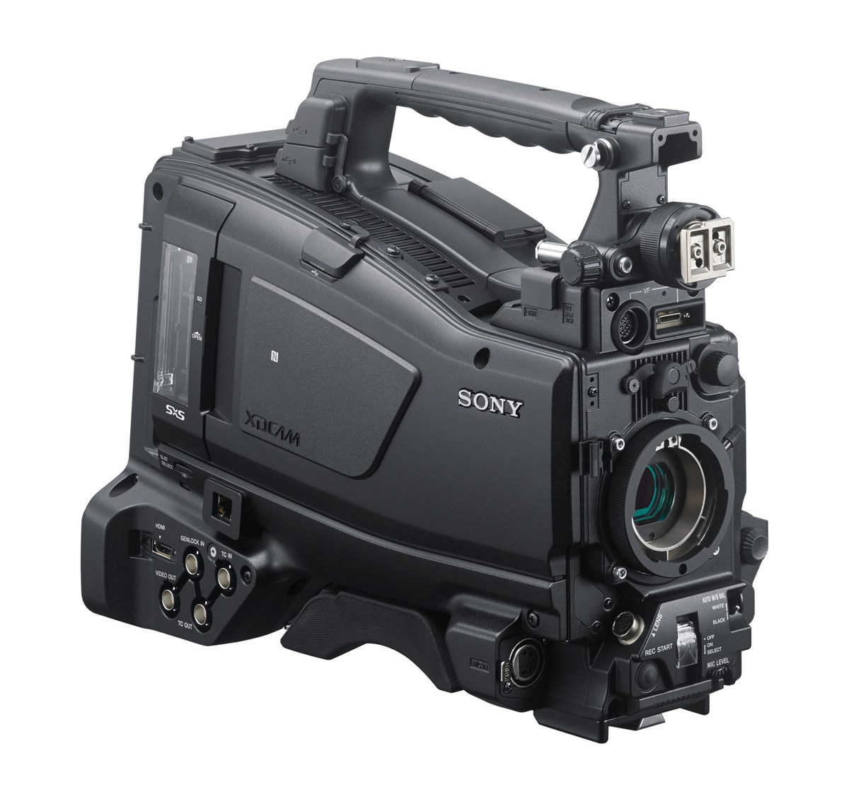 Firmware updates for the Sony PXW camcorder range