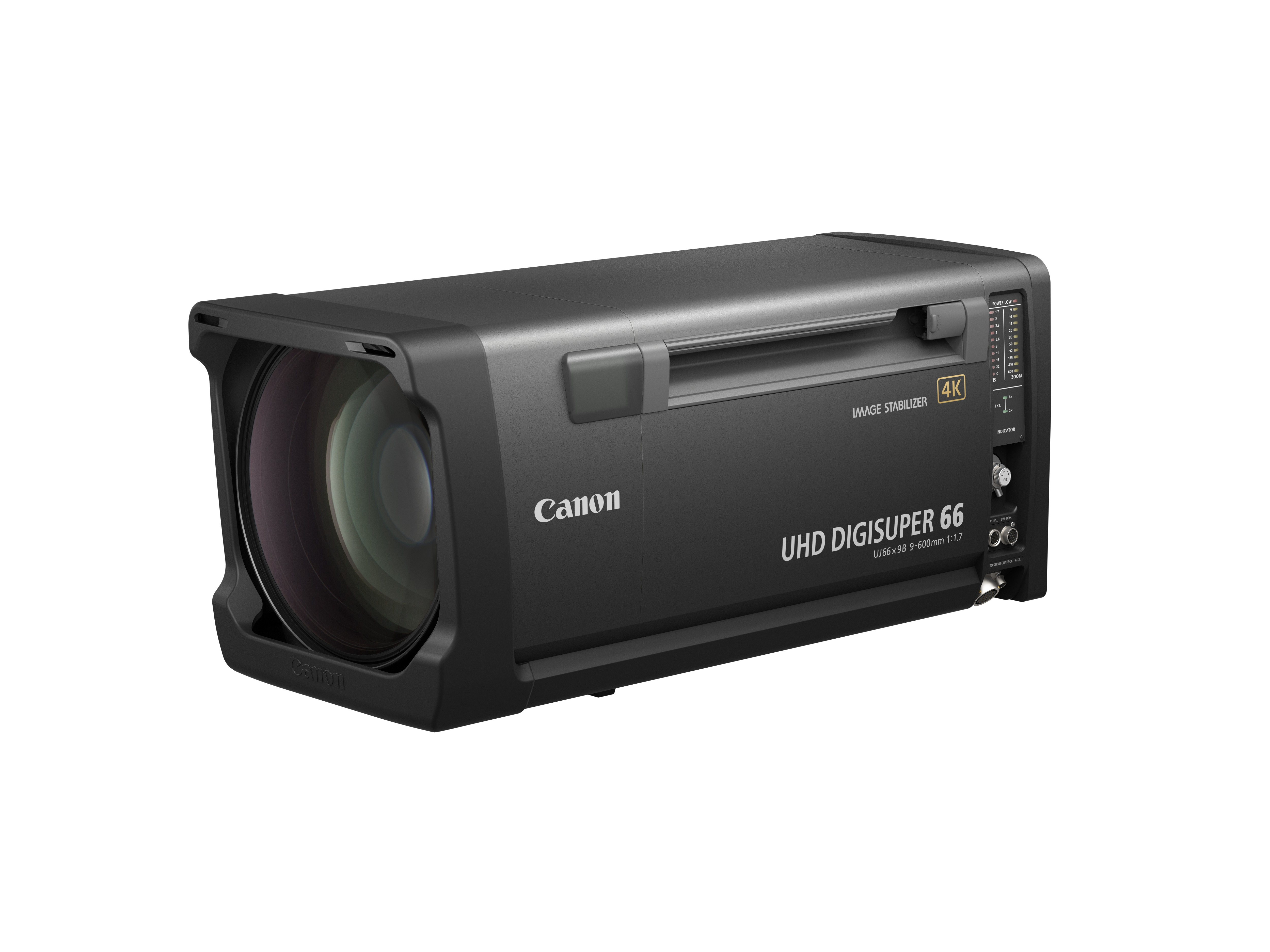 Canon Expands 4K UHD Broadcast Lens Lineup