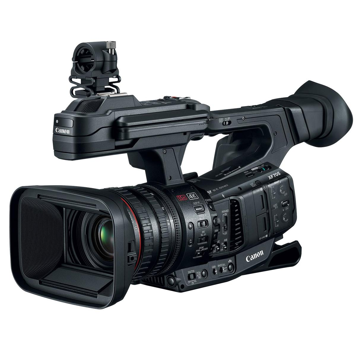 Canon XF705 new flagship camcorder