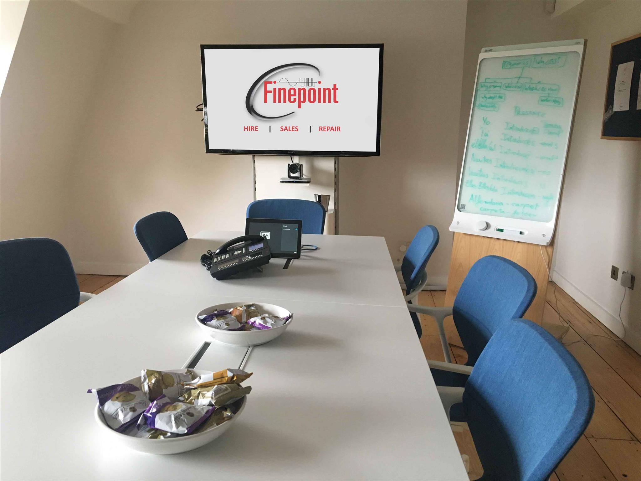 Finepoint Establishes AV Demonstration Facility in Central London
